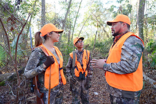 Hunter Safety Instruction