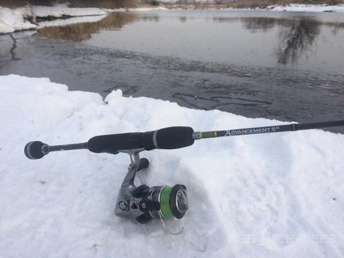 Cold fishing is not a hindrance