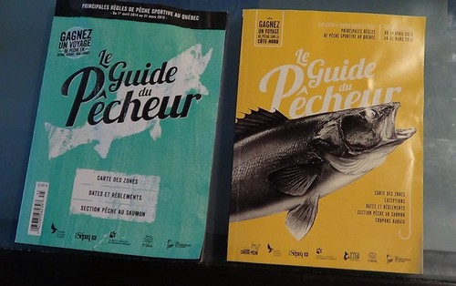 Compliance with the rules of sport fishing in Quebec and Ontario