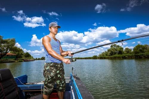 Excellent fishing for carp in Vilkovo