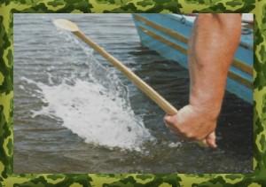 Ловля сома на квок с лодки