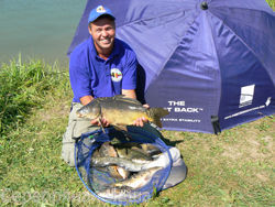 Fishing for trophy carp in the Moscow region