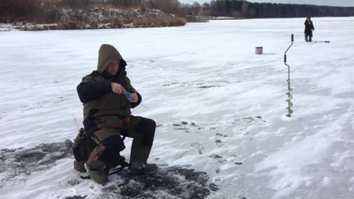 Ловля окуня и плотвы на Пяловском водохранилище