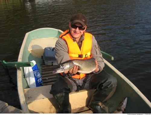 Ловля крупной щуки на Верхнерузском водохранилище