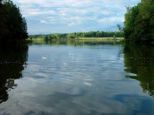 Отдых и рыбалка на Верхнерузском водохранилище