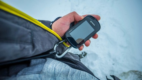 Garmin Oregon 750t. Winter navigation in ice
