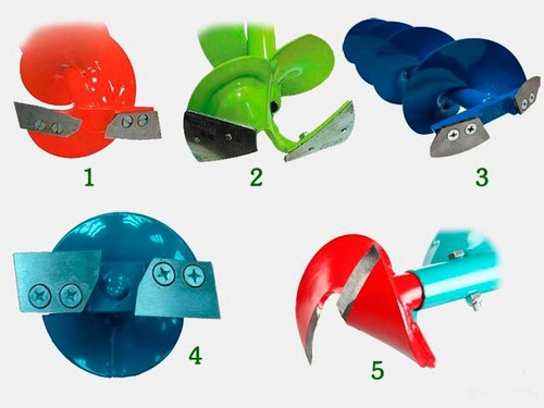 Виды ножей для ледобура