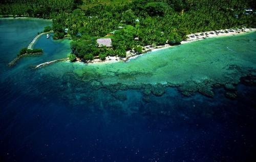 Лучшие места для дайвинга - Великая Белая стена, Тавеуни, Фиджи