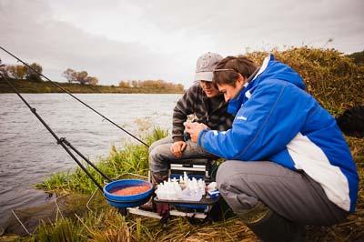 The bream fishing in September on the feeder