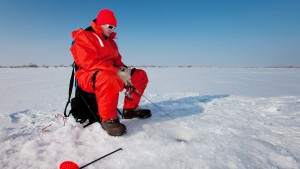 The right ice fishing