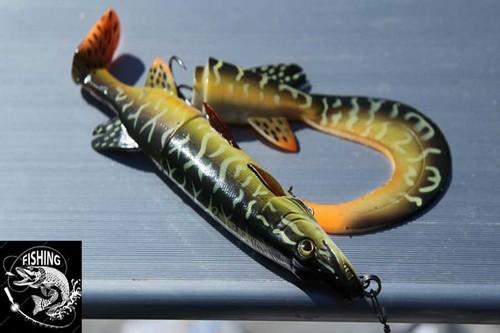 Топ приманок для ловли щуки - приманка 3D Hybrid Pike. Фото 1