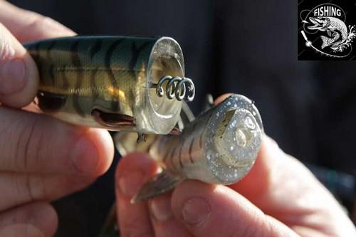 Топ приманок для ловли щуки - приманка 3D Hybrid Pike. Фото 12