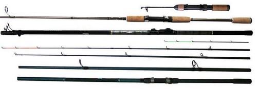 Varieties of fishing rods