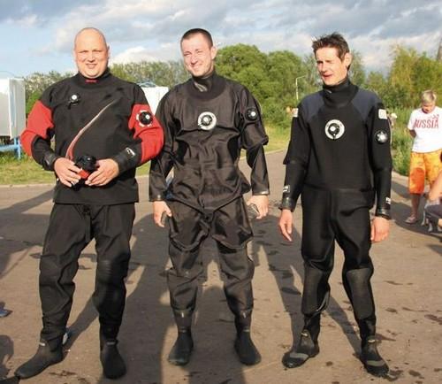 Сухой костюм для подводной охоты