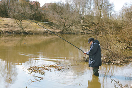 Time and place of fishing, spring fishing