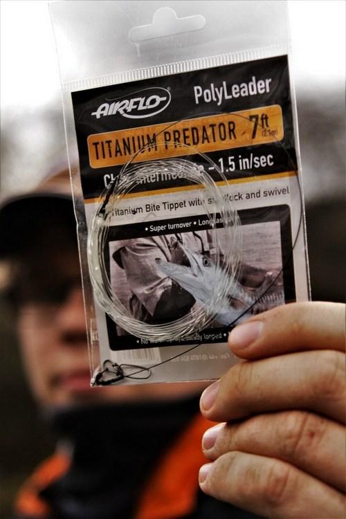 Airflo titanium predator leader