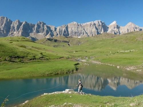 High Pyrenees waters
