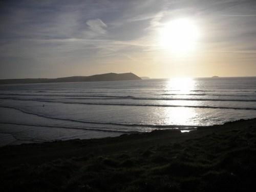 A stunning bass beach in september - not a soul in sight!