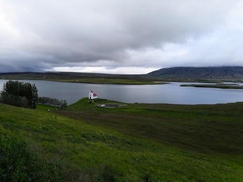 Lake Sogid, Iceland
