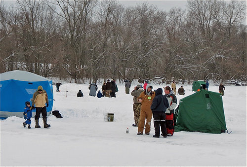 Image result for ice fishing wisconsin