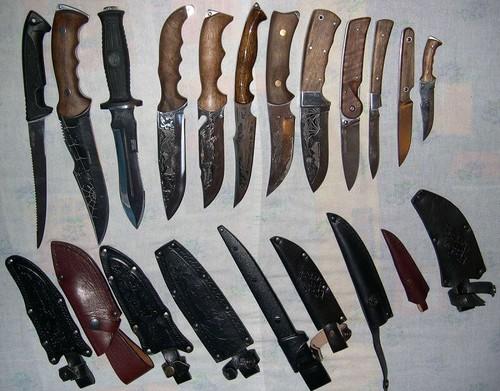 Особенности охотничьих и прочих ножей