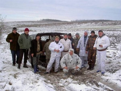 Охота в Молдавии