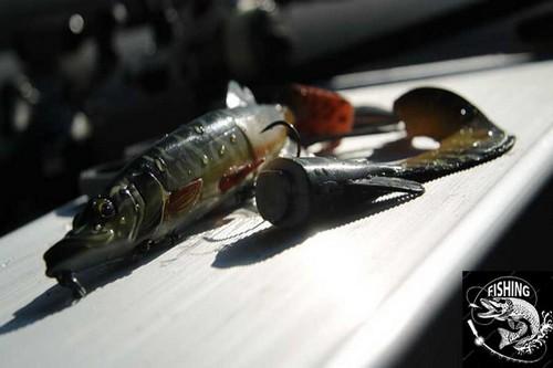 Топ приманок для ловли щуки - приманка 3D Hybrid Pike. Фото 3