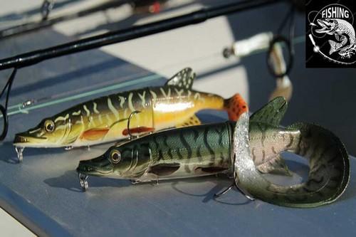 Топ приманок для ловли щуки - приманка 3D Hybrid Pike. Фото 4