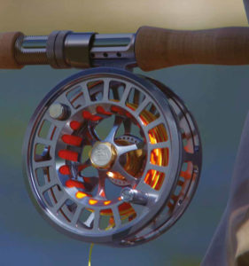 Fly Reel In Action