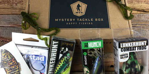 mystery tackle box fishing gift